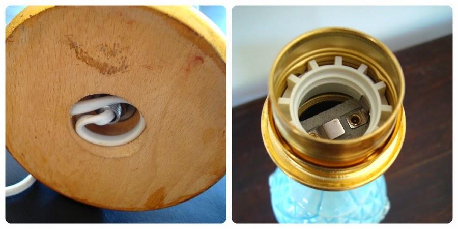 Restauración de lámparas cerámica de manises