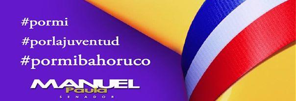 Publicidad Manuel Paula Senador