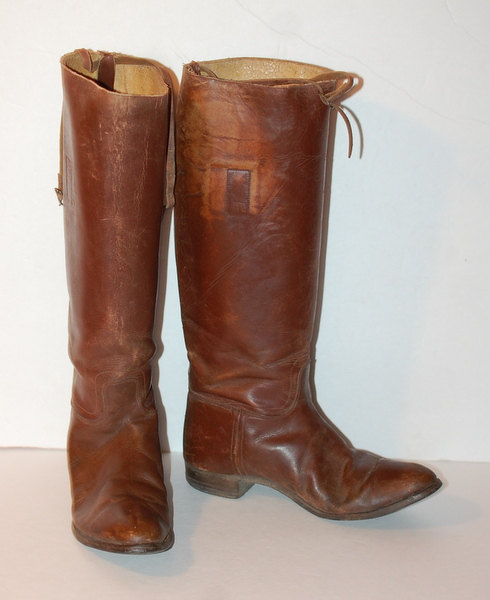 English Riding Boots Vintage
