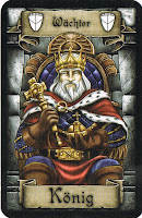 Imagen de cartas del rey Juego mesa Palastgefluster (Palast o Intrigas de palacio)