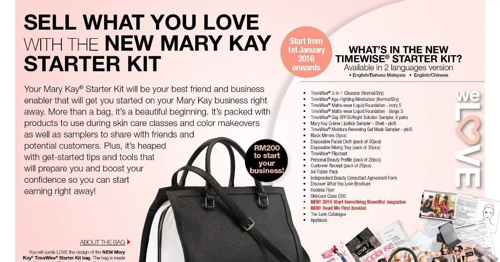 My Mary Kay New Timewise 174 Starter Kit