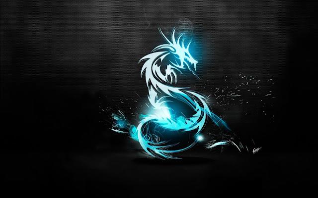 Dragon Azul Fondo de Pantalla HD - Imagenes de Dragones