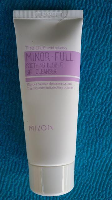 Minor-Full Sooting Bubble Gel Cleanser от Mizon