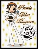 Premio chica bloguera