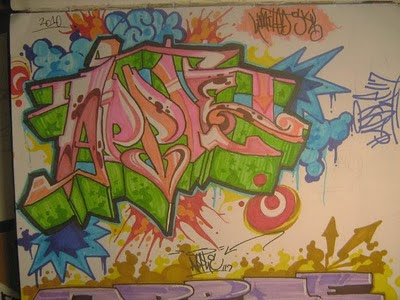 Graffiti_Alphabet_Full_Color_Sketches_on_Book