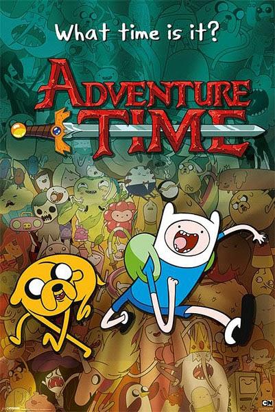 Poster Hora de Aventuras Adevnture Time