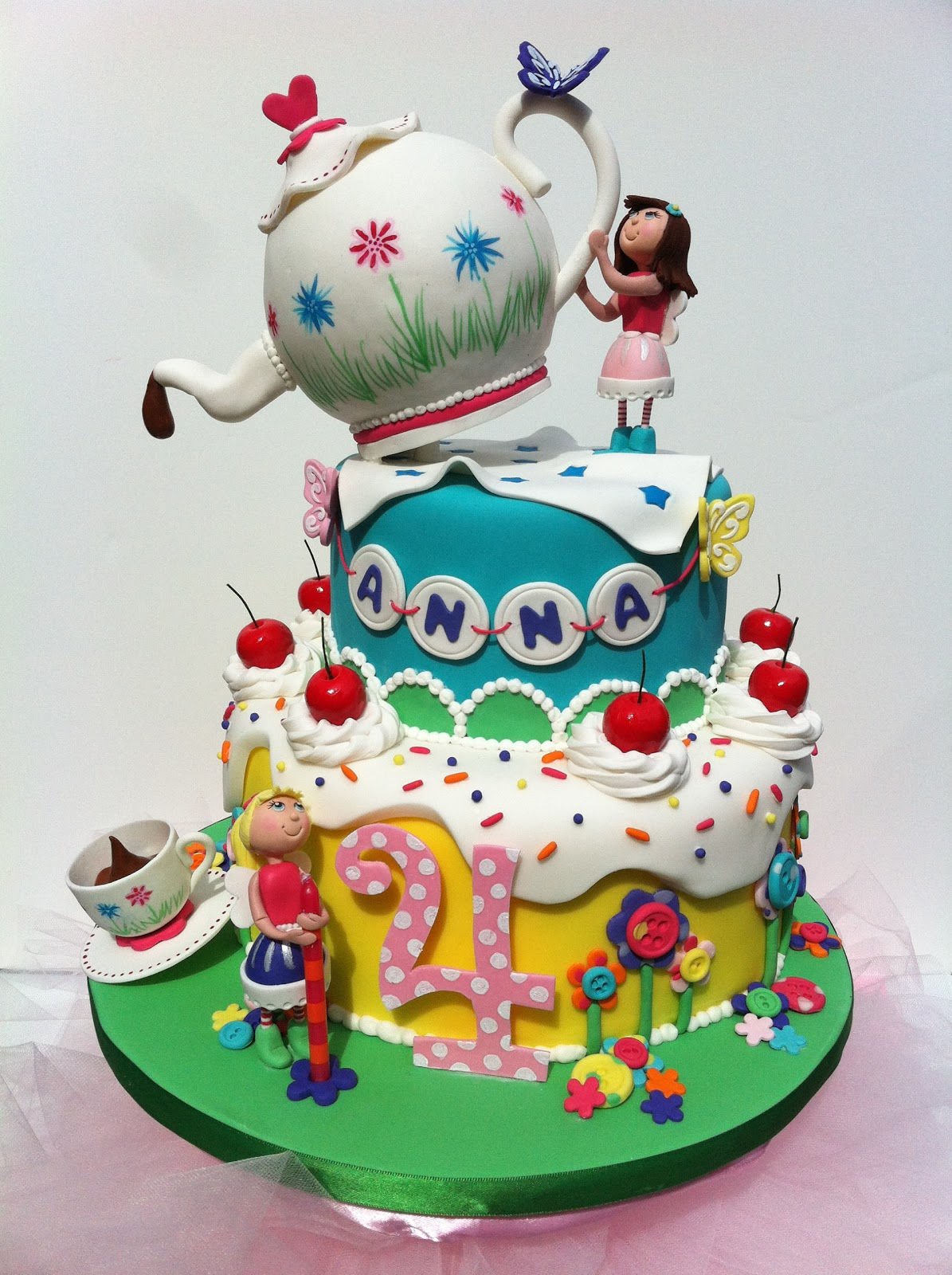 Tea Party Cake Images : Whimsical by Design: Washington State Cake Show 2012 - A ...