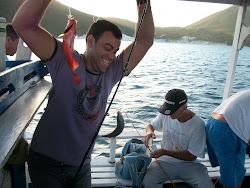 A alegria do pescar .