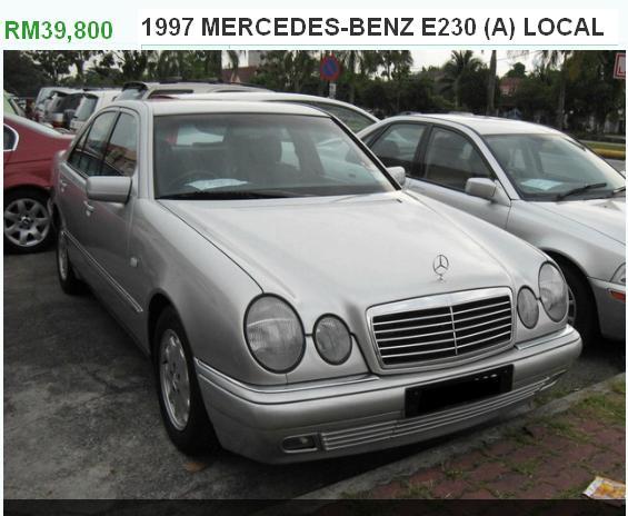 MERCEDES BENZ 1997 RM 39K ONLY