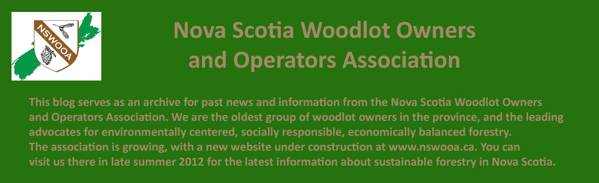 Nova Scotia Woodlot Owners and Operators Association
