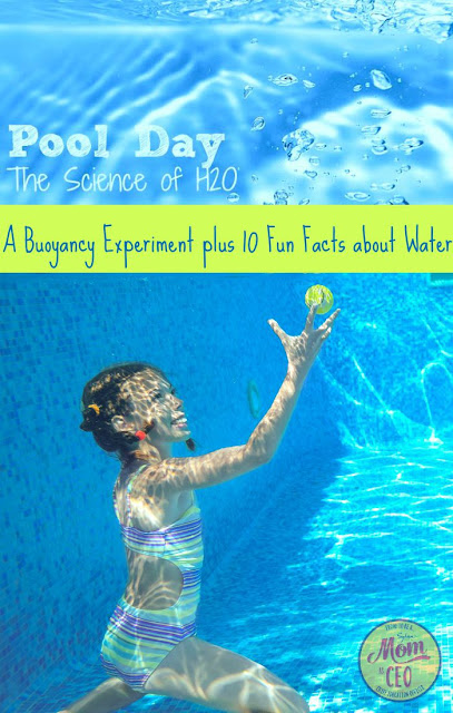 Dive into the science of H20 with these kid friendly learning activities. A Sylvan Mom CEO contributor