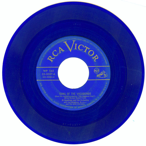 1949 , the world39;s first commercially released 45 RPM record