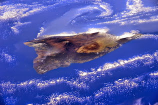 ISS VIEW OF THE ISLAND OF HAWAII