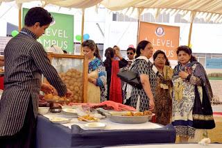 dawood public school a level food stall