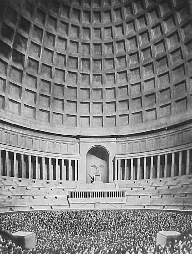 Interior del Große Halle