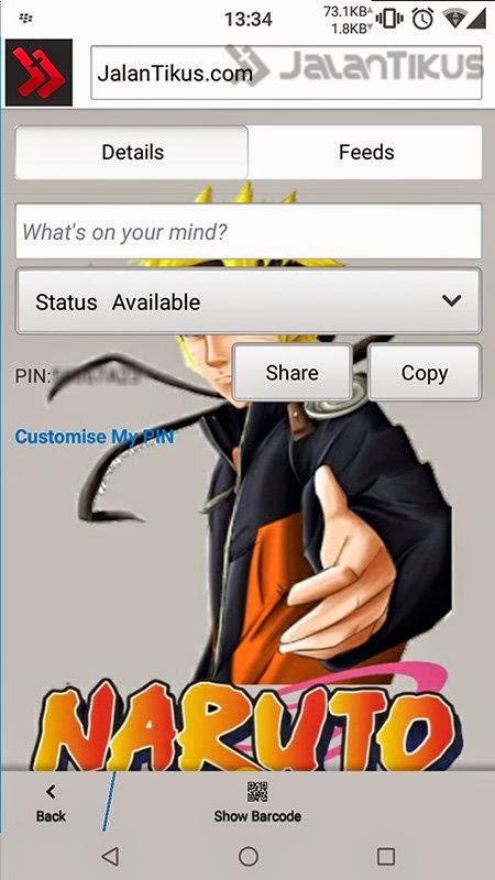 Mod BBM Naruto