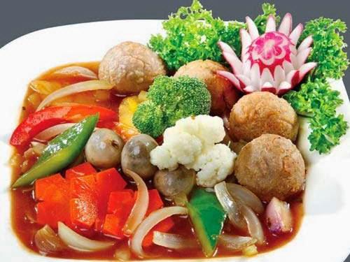 Fried Beef with Mushrooms - Bò xào nấm