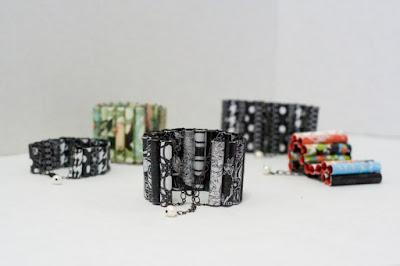 paper bracelets tutorial