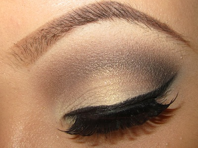 TINAMARIEONLINE: Light Golden Brown Eye Makeup Tutorial