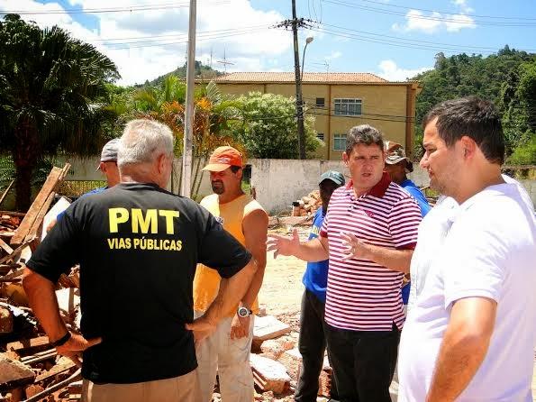 Prefeito Arlei ressalta que a construção do Centro de Hemodiálise é uma grande conquista para o município