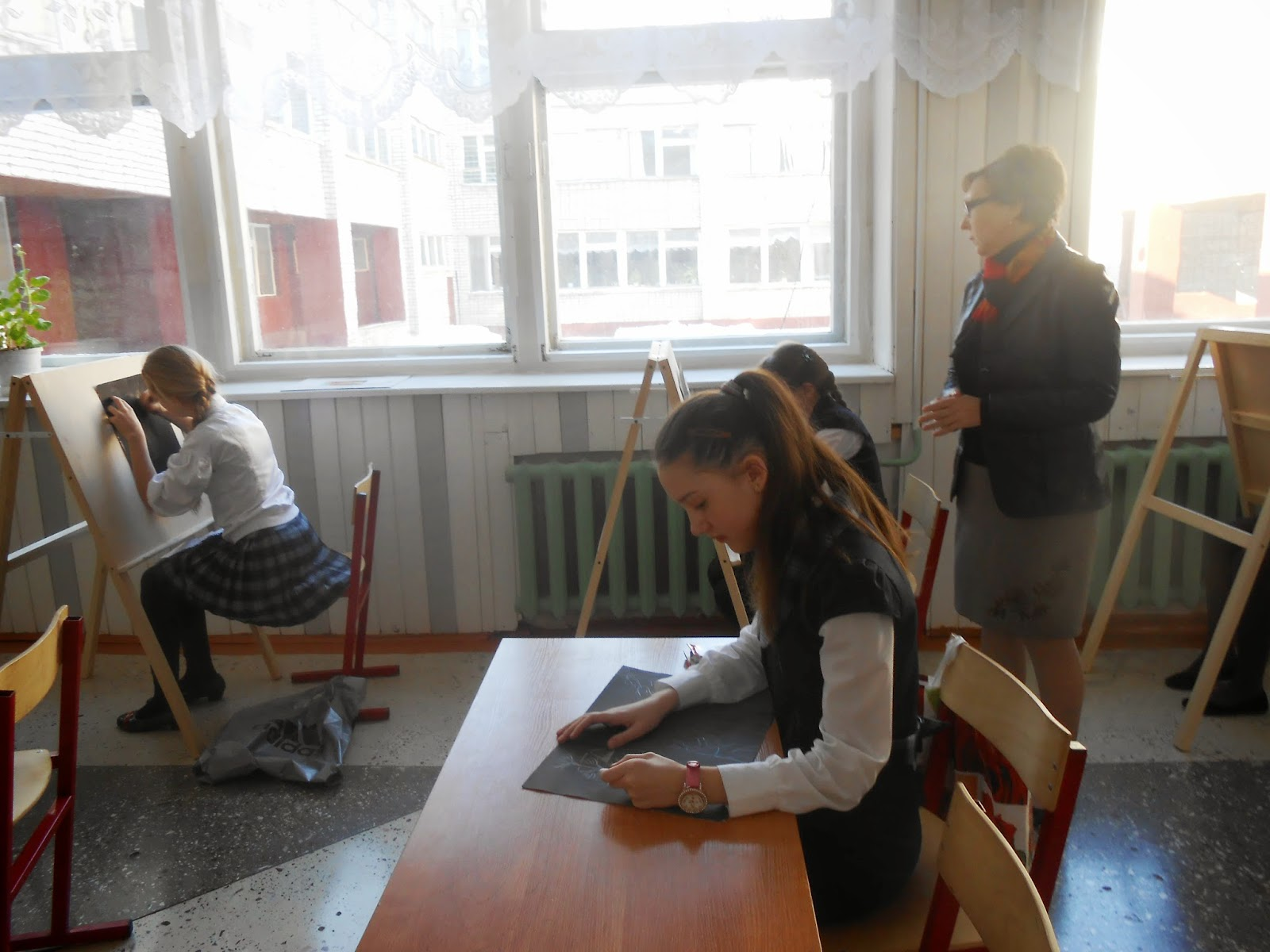 Фото секса на переменах в школе, Школьное порно фото с училками 5 фотография
