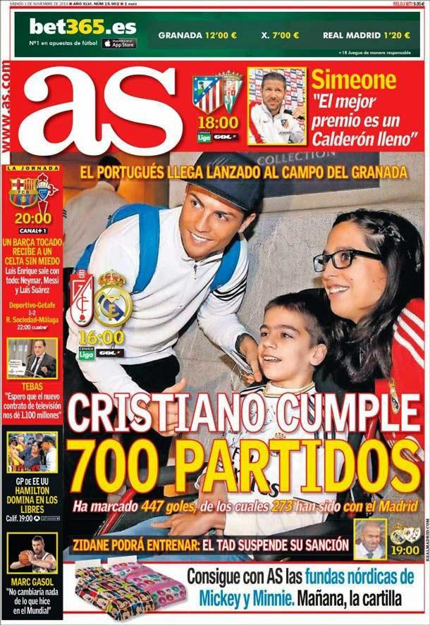 Portada As (1/11/2014)