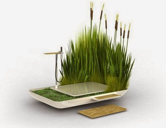 Eco Green Bathroom Design