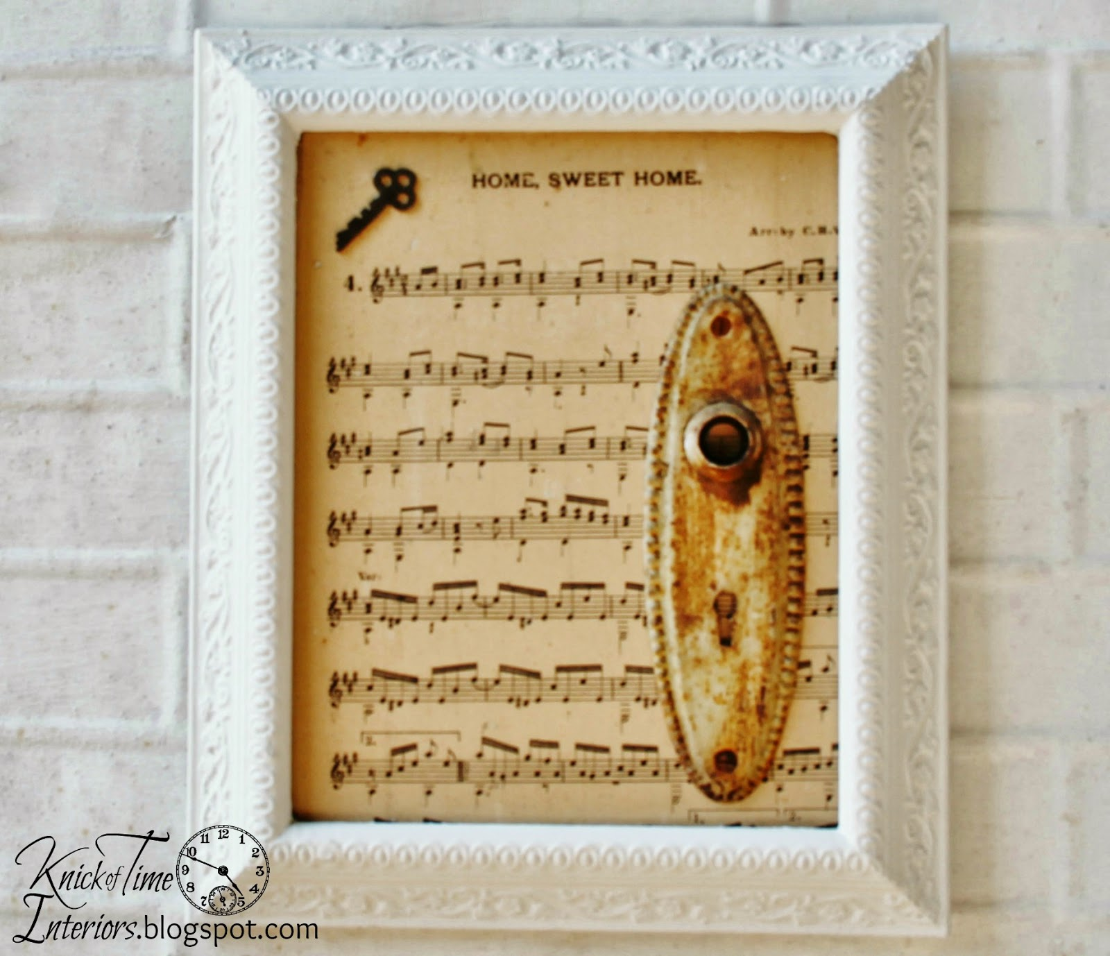 Mixed Media Photo Frames - {Rising Up from the Broken Remains ...