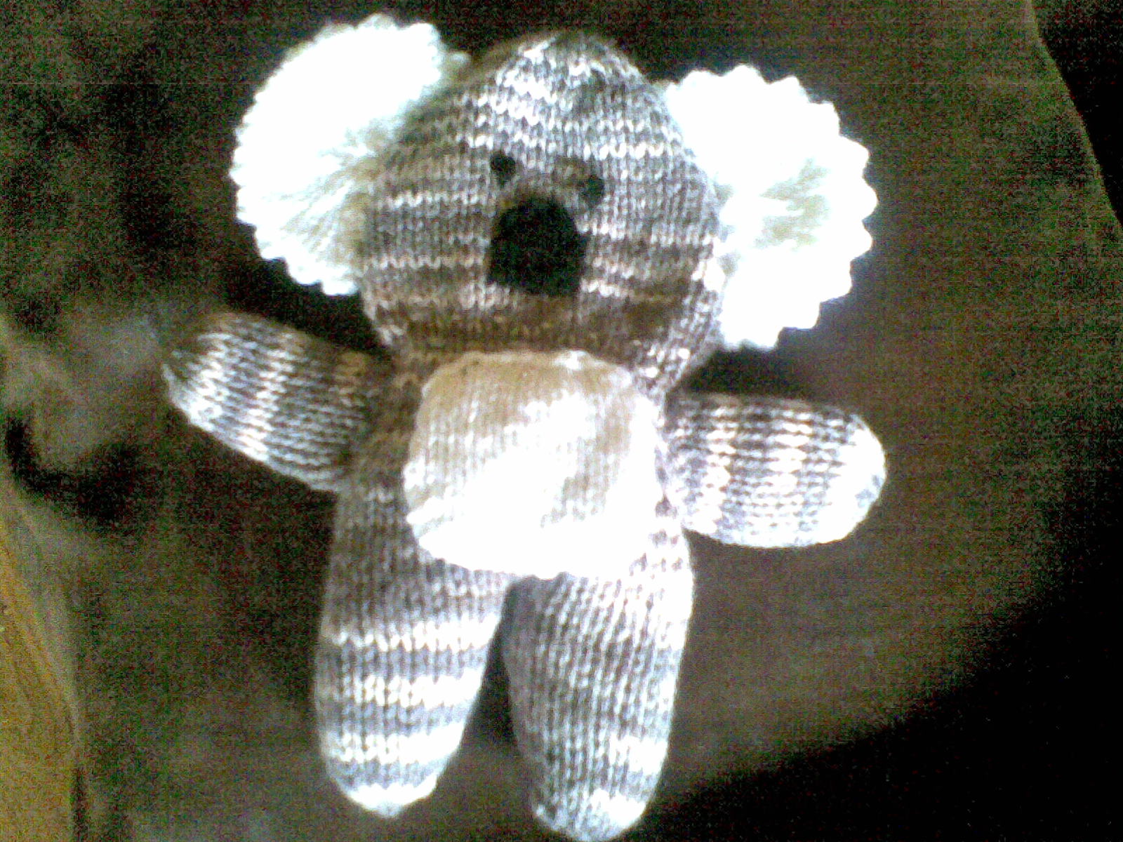 Knitted Golliwog Pattern : Papillon Gold: Knitted toys
