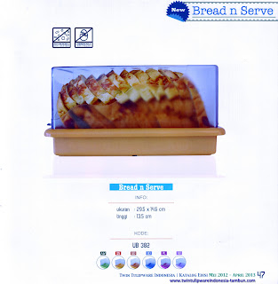 Info & Harga Twin Tulip Tulipware 2014 : Bread And Serve