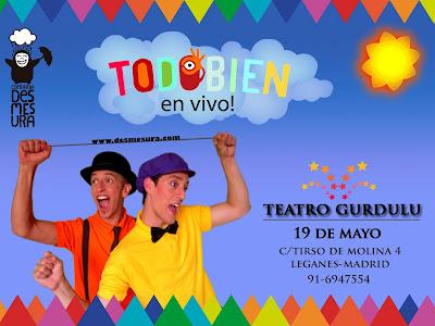 Compañía Desmesura en Teatro Gurdulú