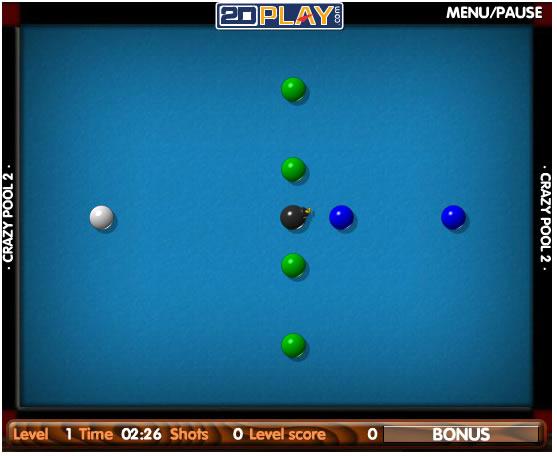Ball Game : Crazy Pool 2