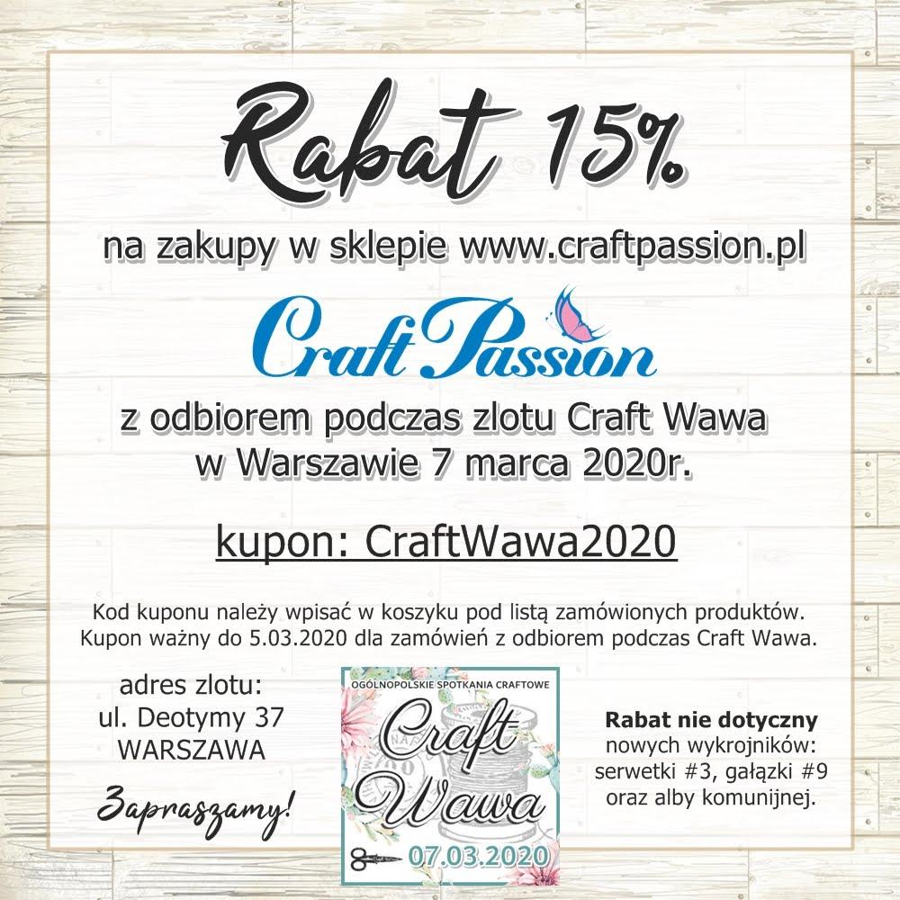 Rabat na zlot Craft Wawa