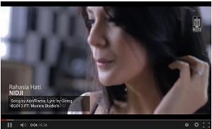 Lirik Lagu dan Video Klip Terbaru Rahasia Hati - Nidji