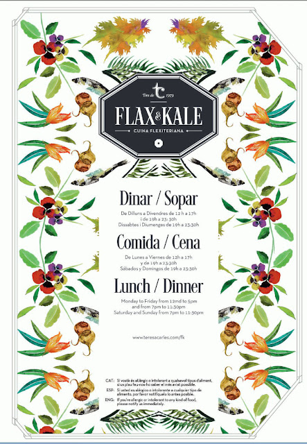 Flax & Kale Speisekarte