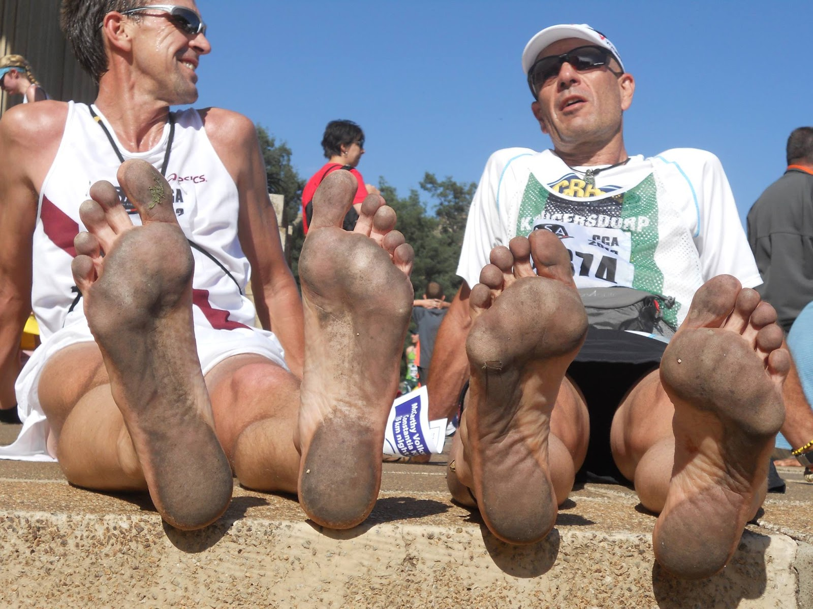 ベアフットランニングにおける足底感度について