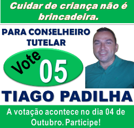Participe! Compareça! Vote!