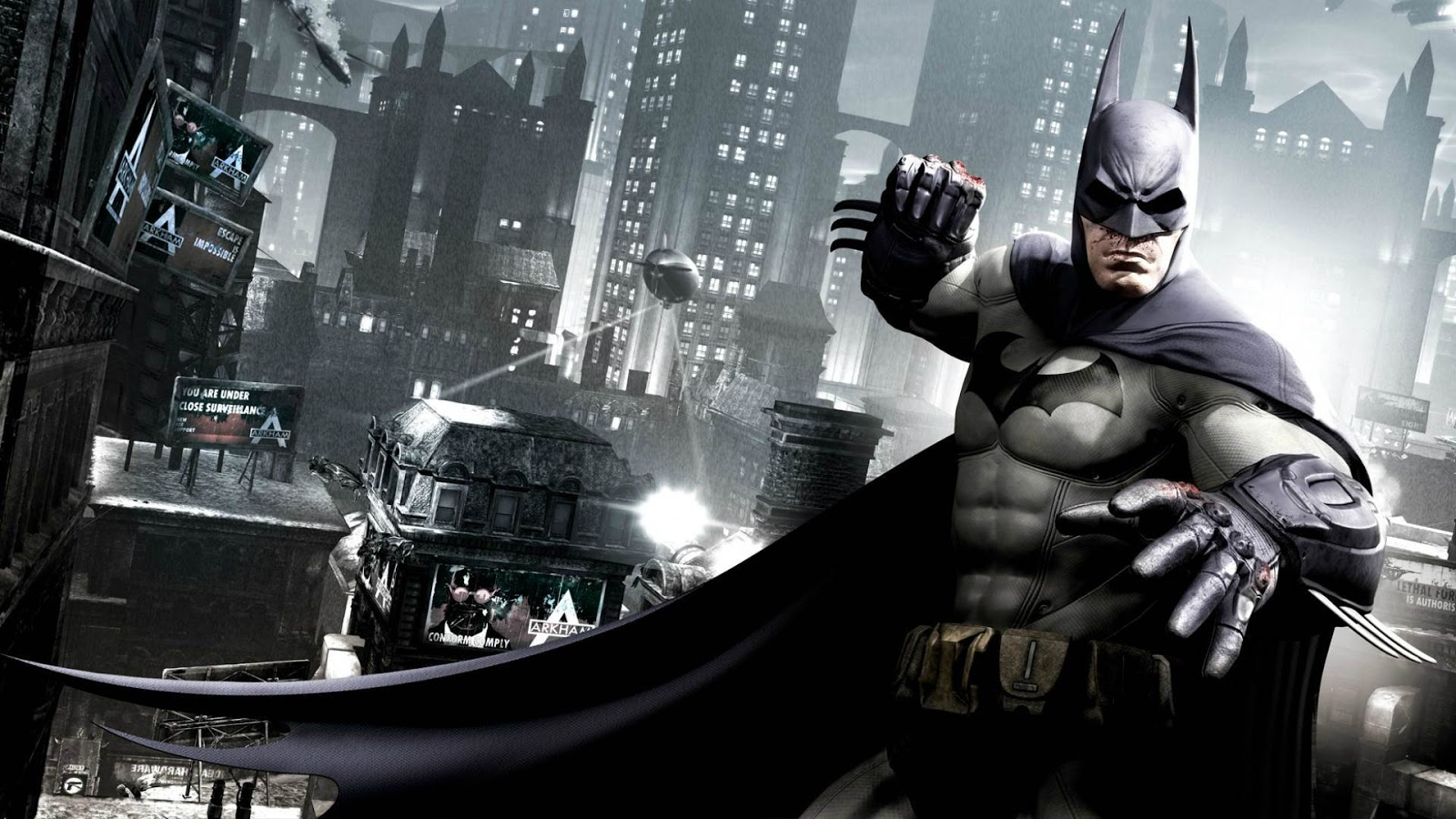 Batman Arkham Origins Black Gate