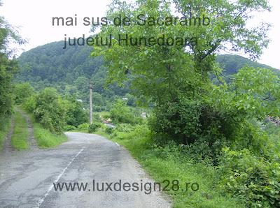 Mai sus de satul Sacaramb