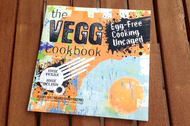 The Vegg Cookbook: Vegan egg yolk powder