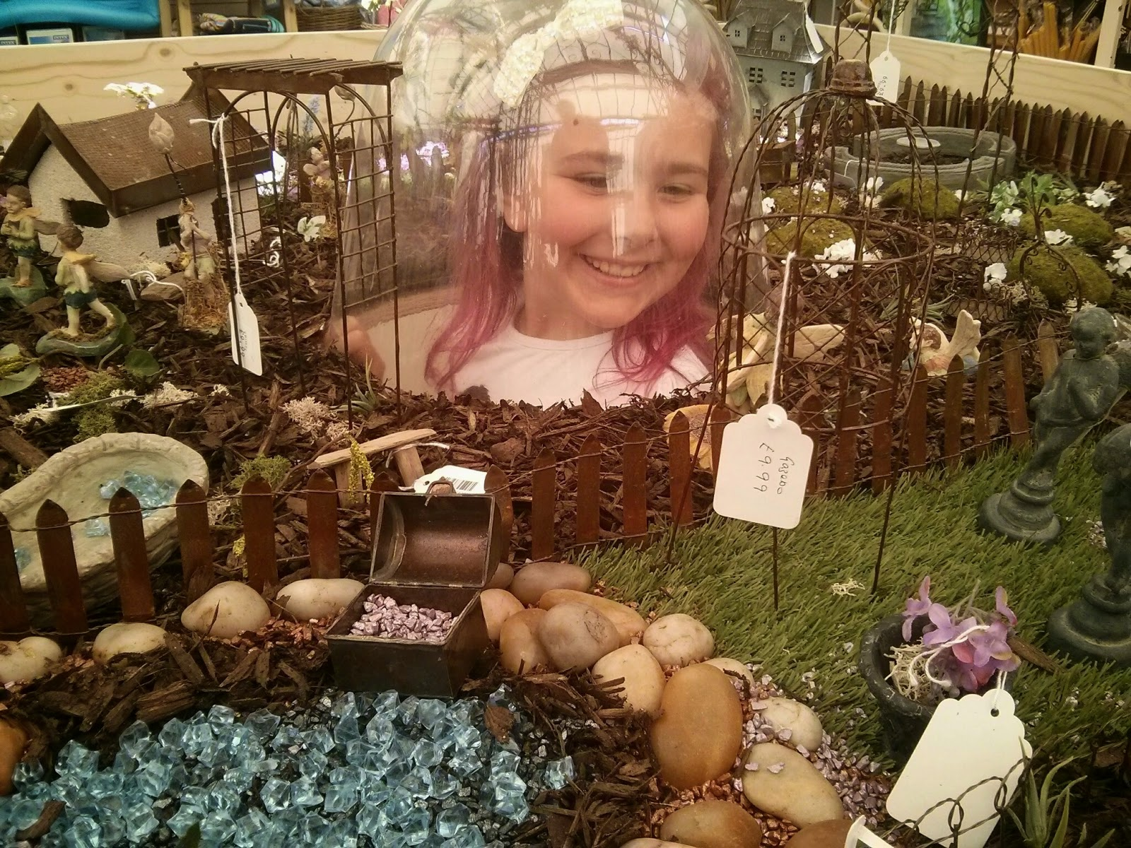 Top Ender viewing the Fairy Garden