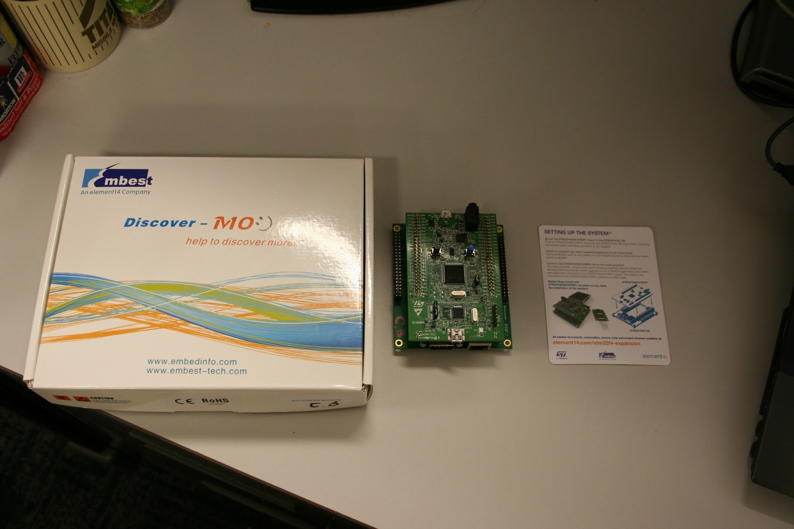 The Backwoods Engineer: Geeky Post: STM32F4-BB Ethernet Projects