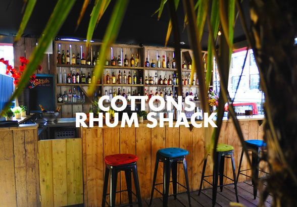 COTTONS RHUM SHACK POP-UP AT BOX PARK