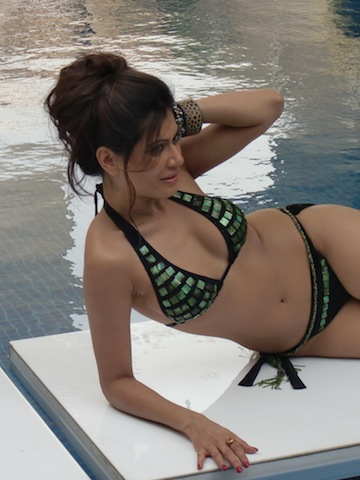 Payal Rohatgi - Payal Rohatgi Two Piece Bikini at Surviour India 2