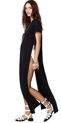 full length maxi T-shirt