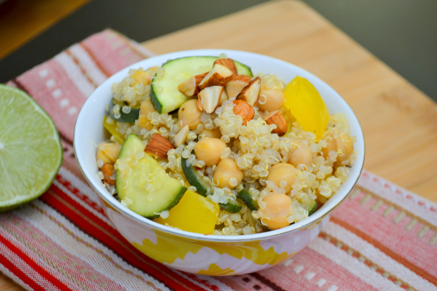 Test Kitchen: Quinoa Salad with Toasted Almonds