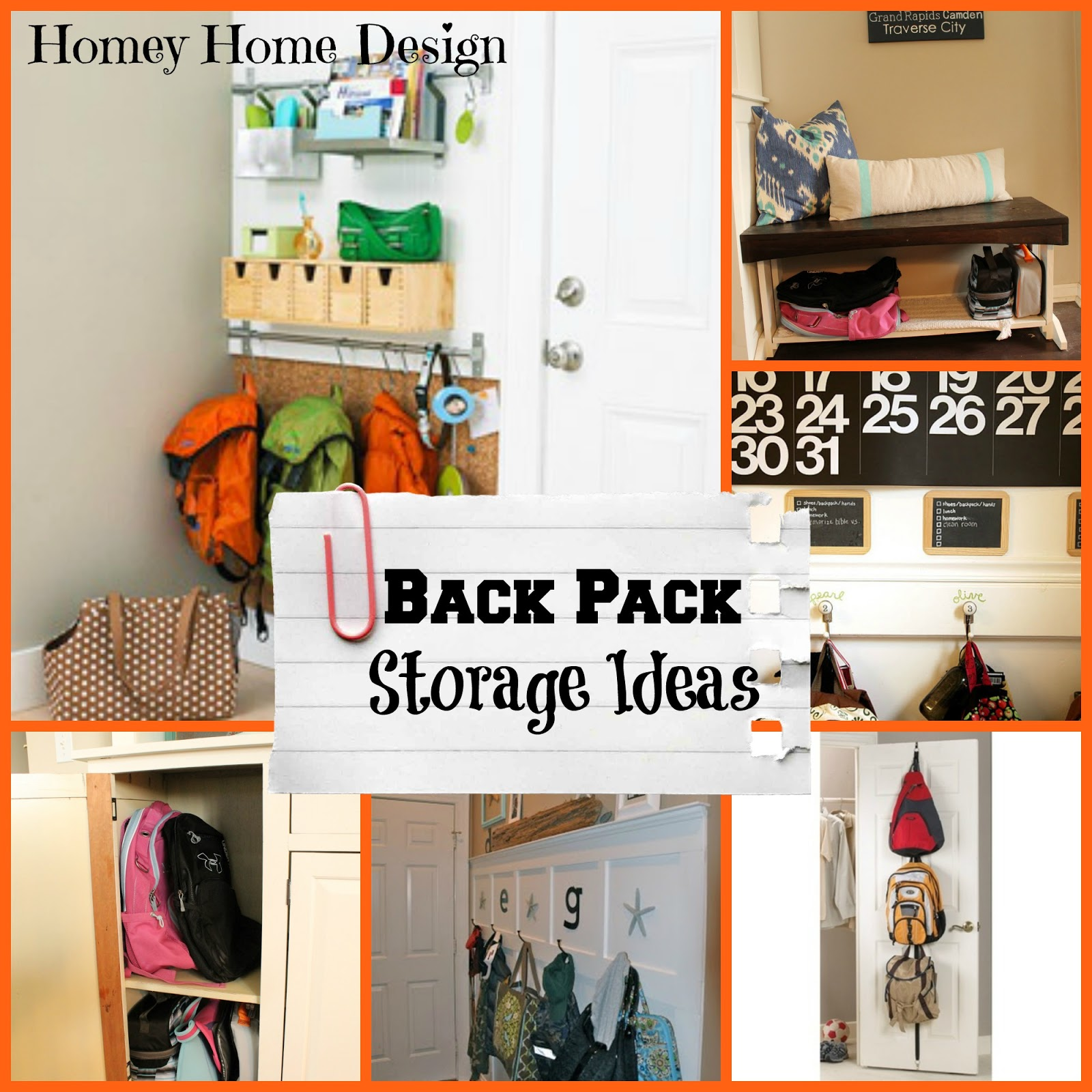 Homey home design back to school organization part 2 - Back to school organization ...