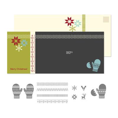 Stampin' Up! Make a Mitten Stamp Brush Set Digital Download