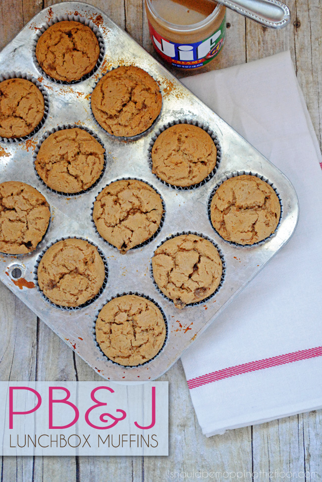 Sandwich Alternative: PB&J Lunchbox Muffins   Makes 3 dozen freezer-friendly muffins packed with protein. Perfect to toss in a lunchbox in the morning and thawed out by your kiddo's lunchtime.