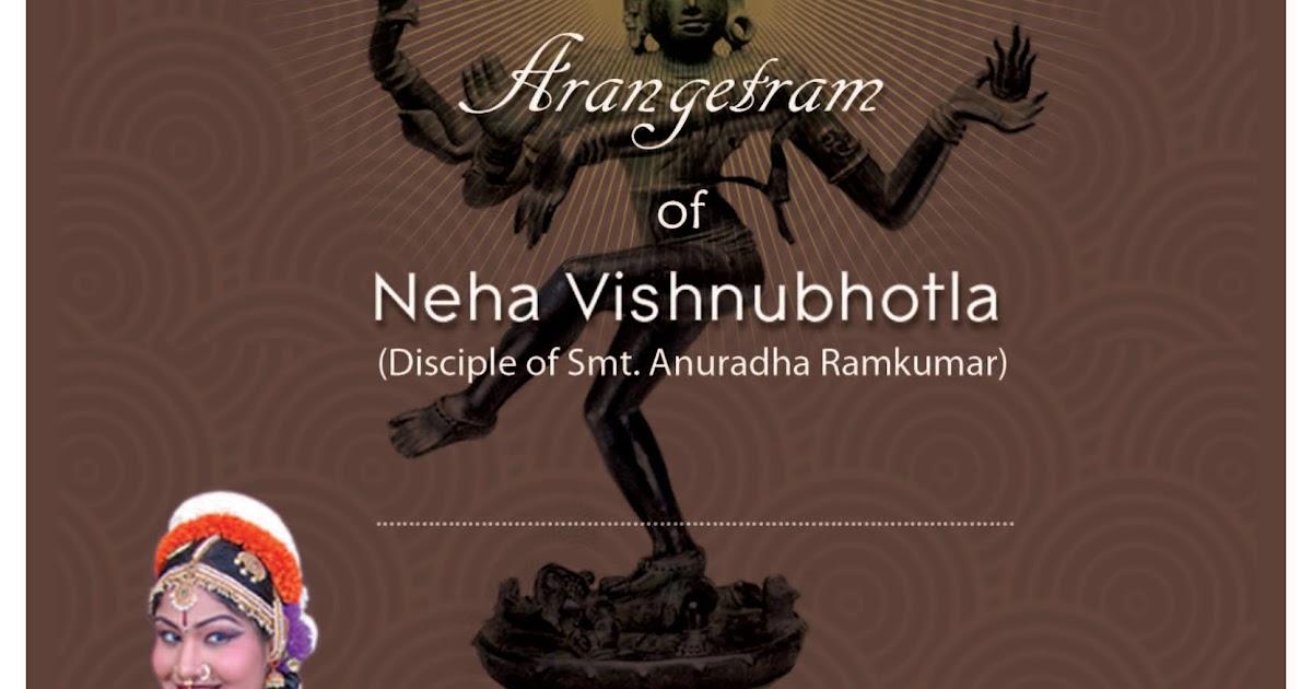 Arangetram Invitation was good invitations sample